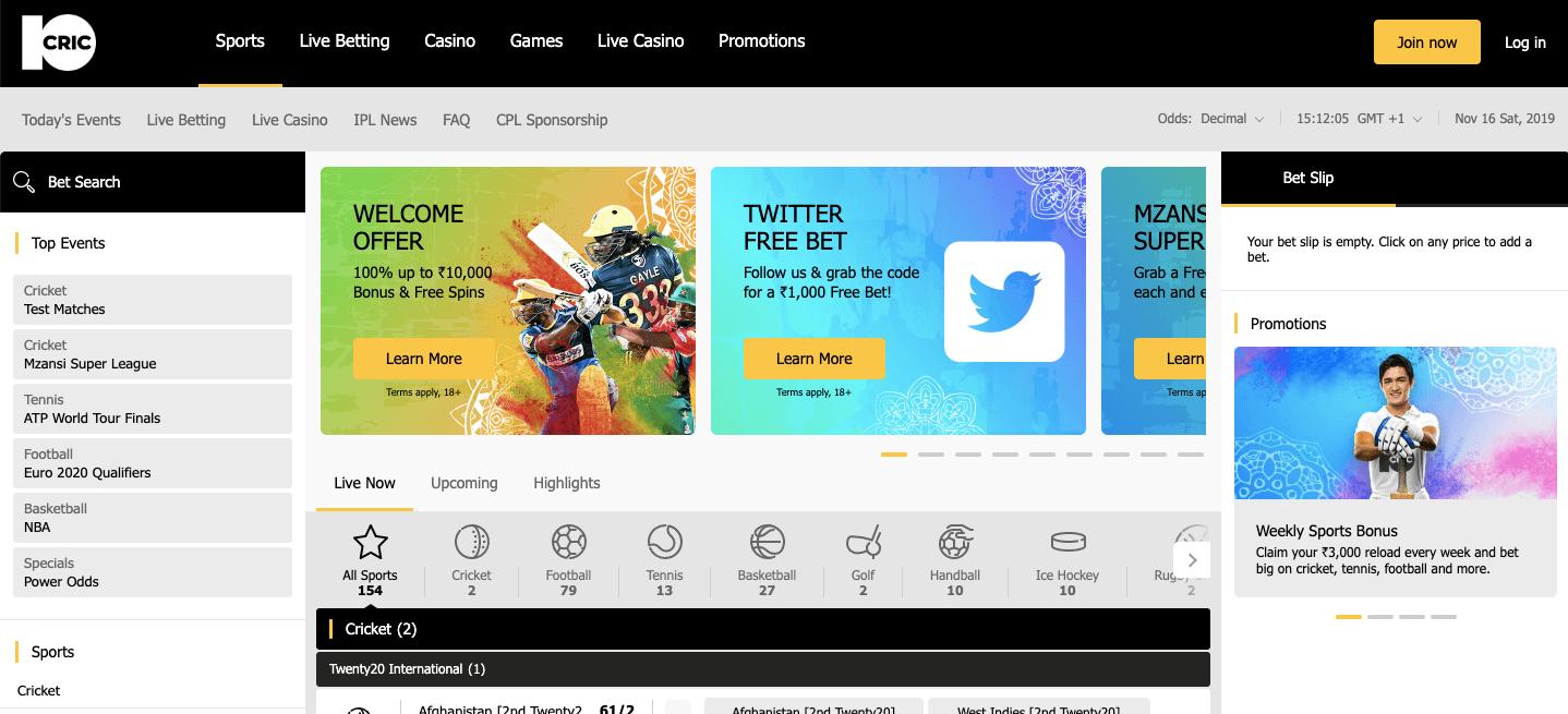 10cric homepage