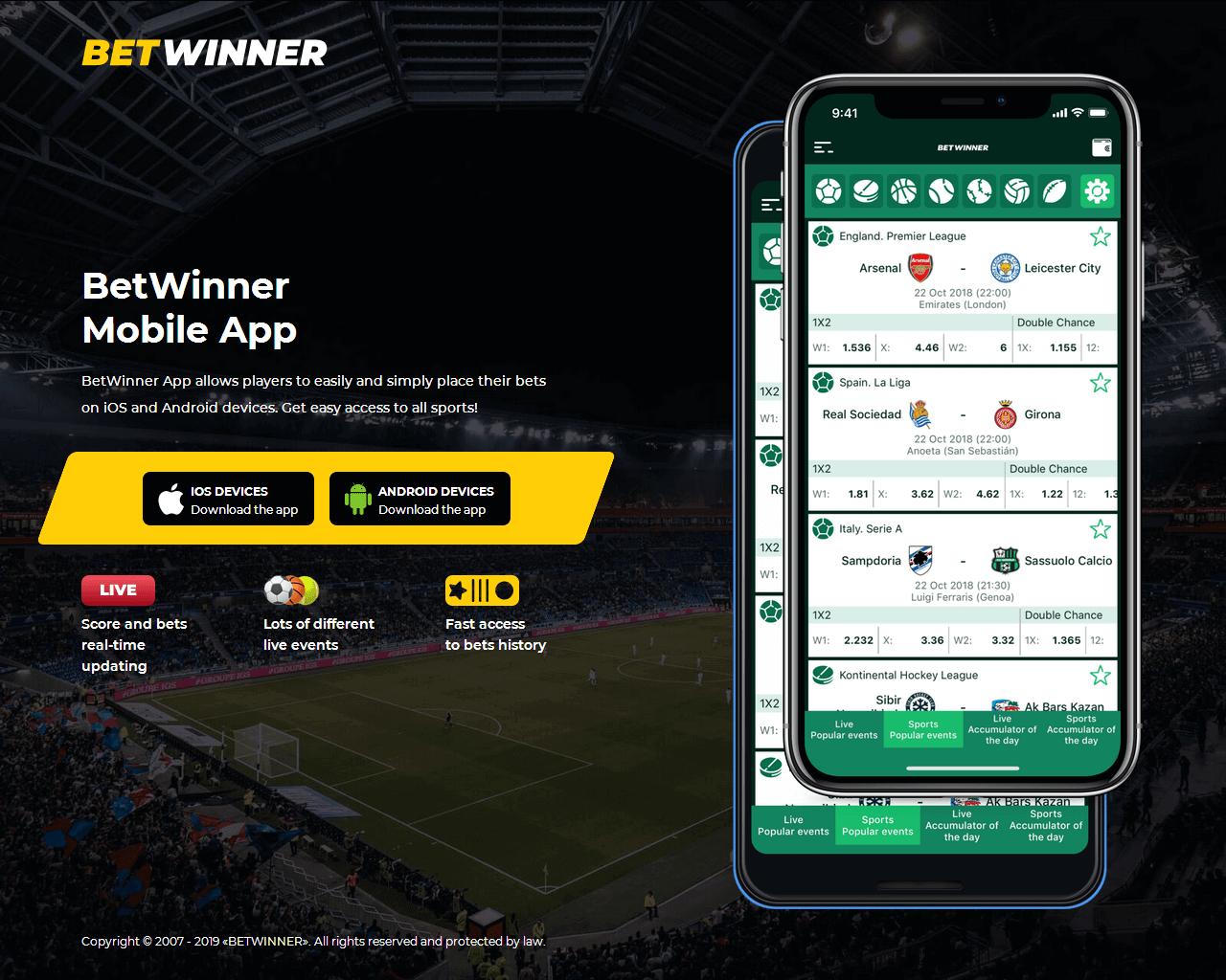 betwinner apps