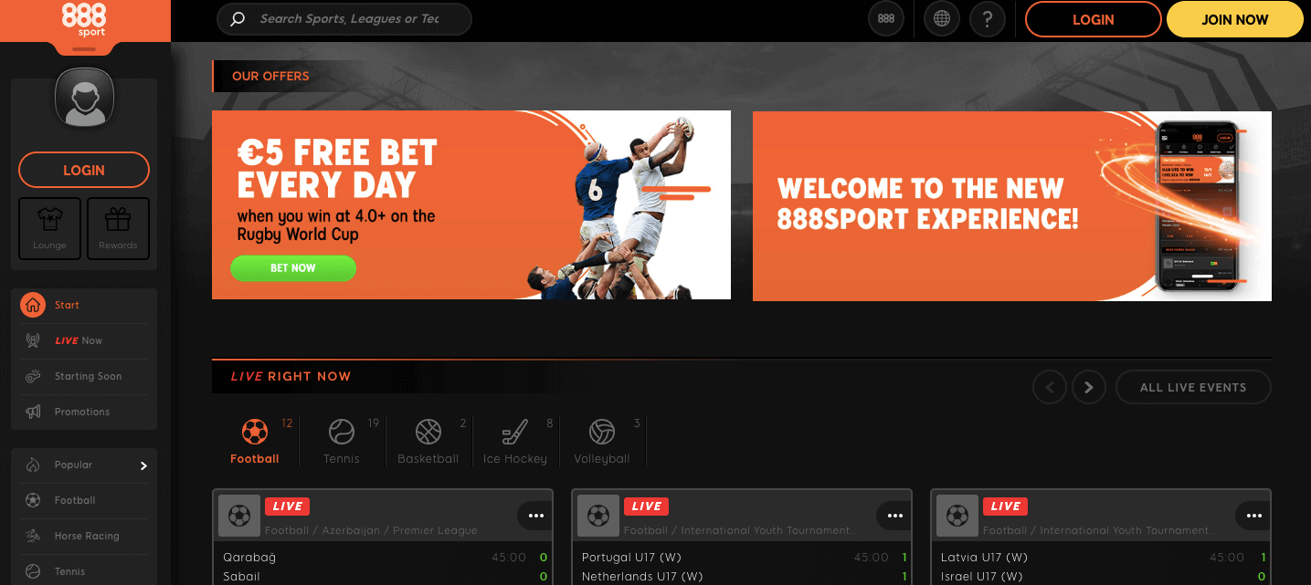 888sport homepage