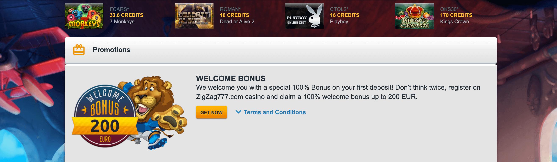 zigzag777 bonus