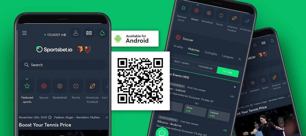 sportsbet.io mobile app