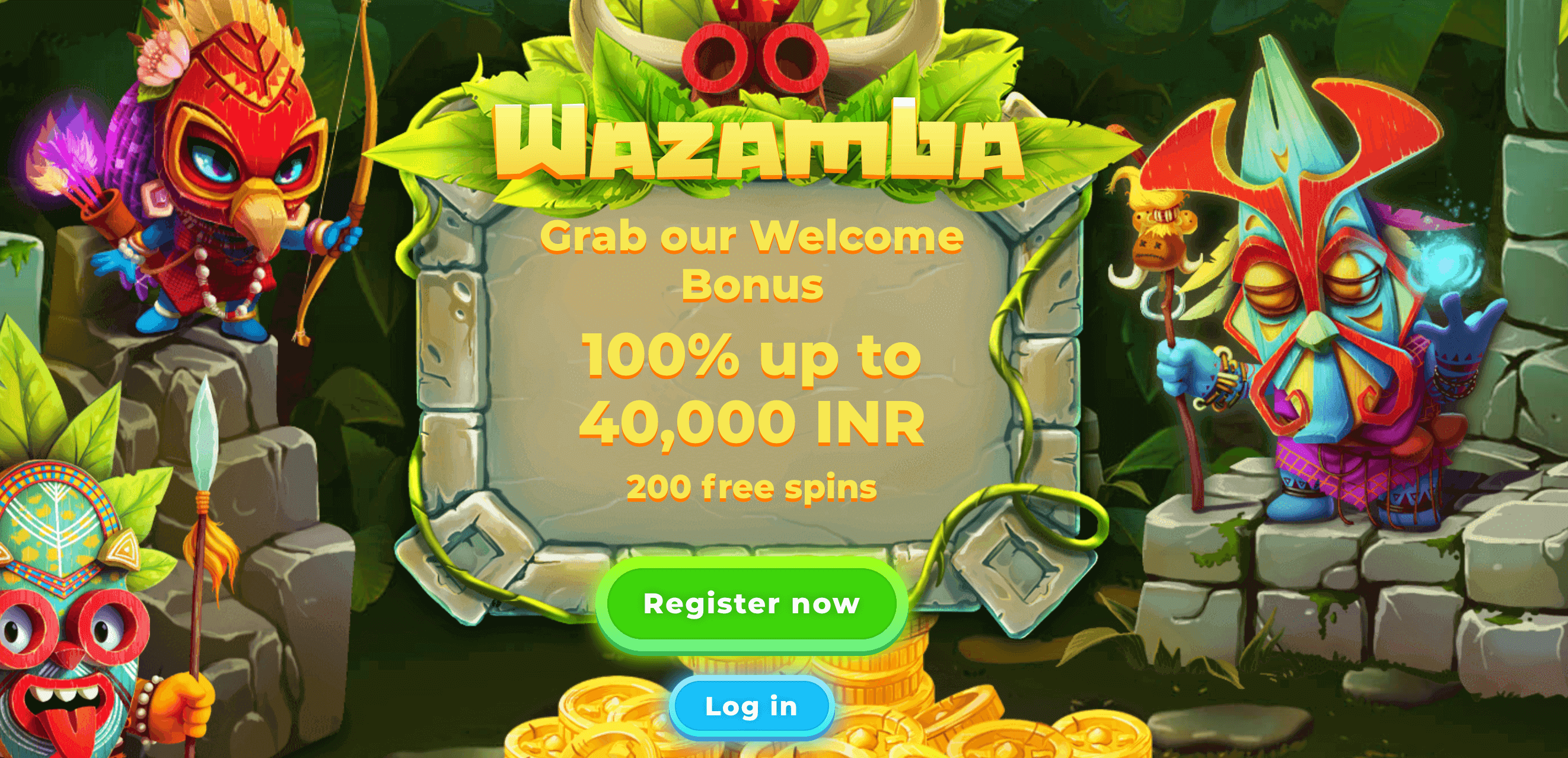 wazamba casino welcome bonus