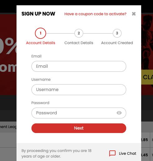 Select.bet Register