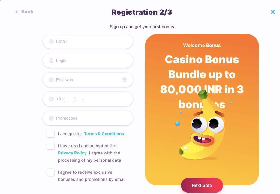 Nomini Casino Register