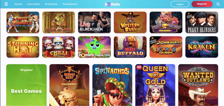 Nomini Casino Slot