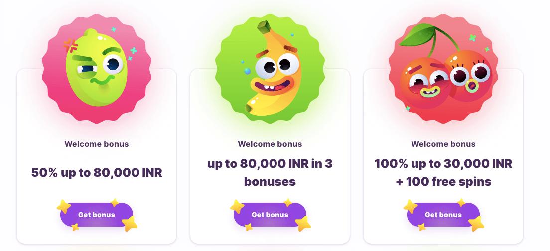 Nomini Casino Welcome Bonus