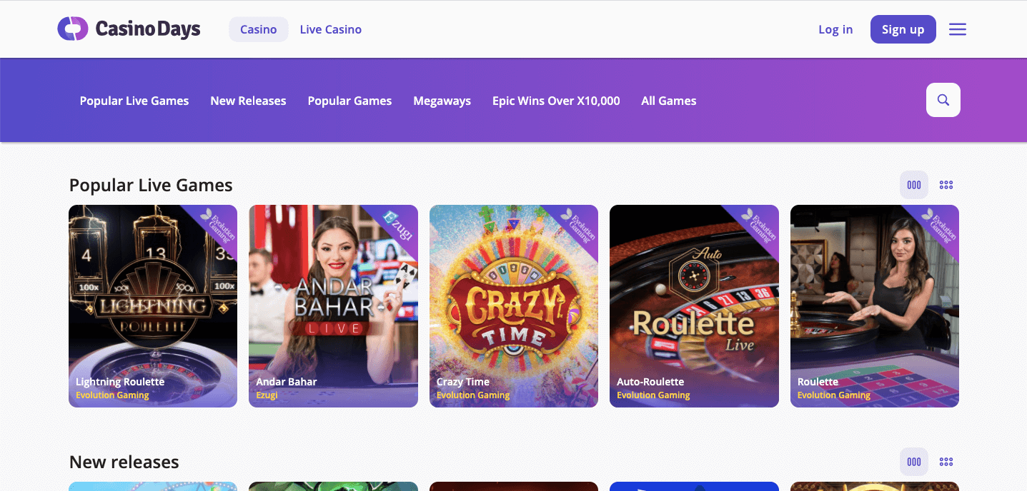 Casino Days Slot