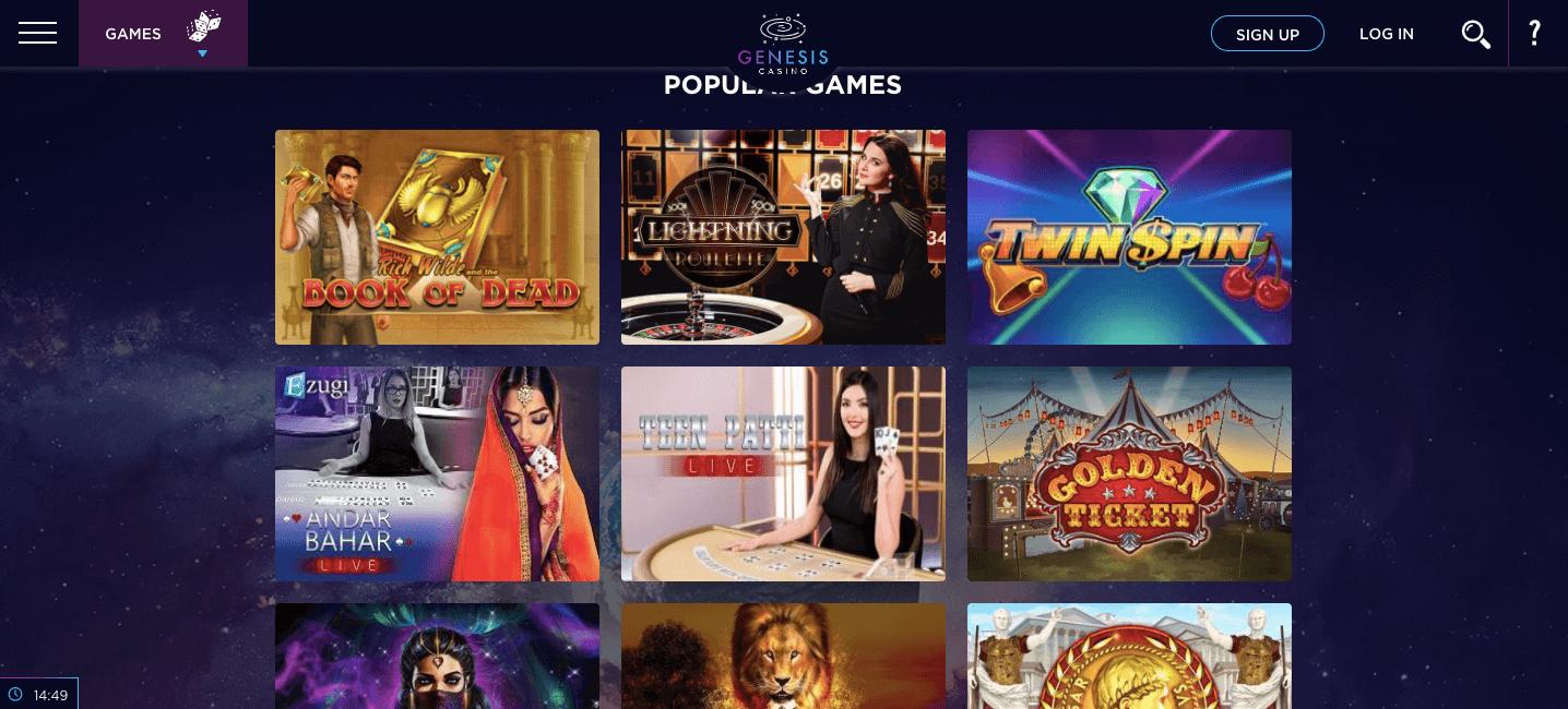 Genesis Casino Slot