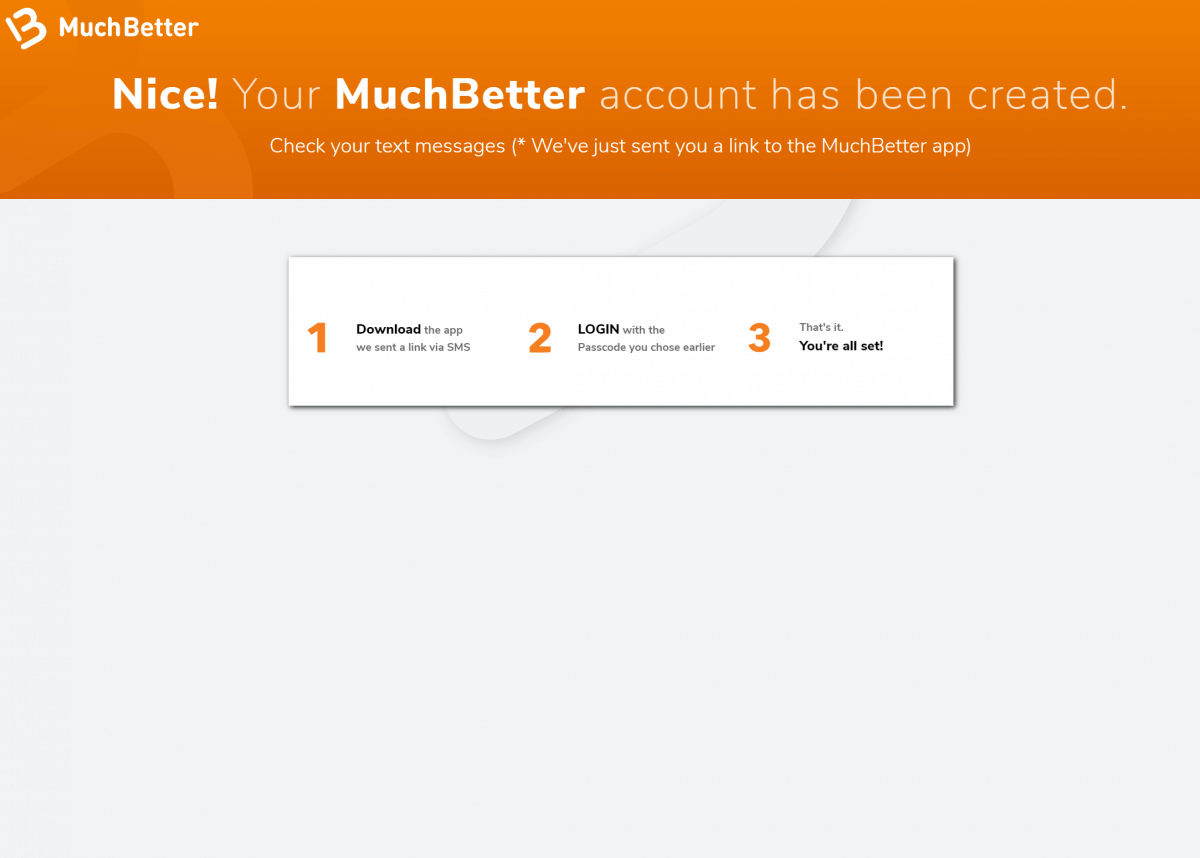 MuchBetter Registration