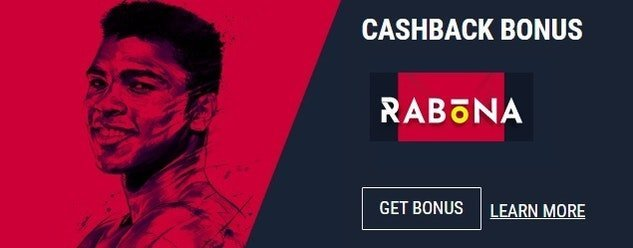 Rabona Cash Back Betting Offers
