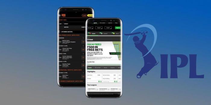 placing a bet via an IPL betting app