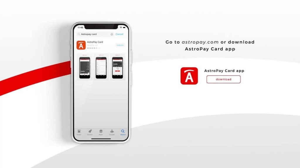 ways of paying for your astropay card