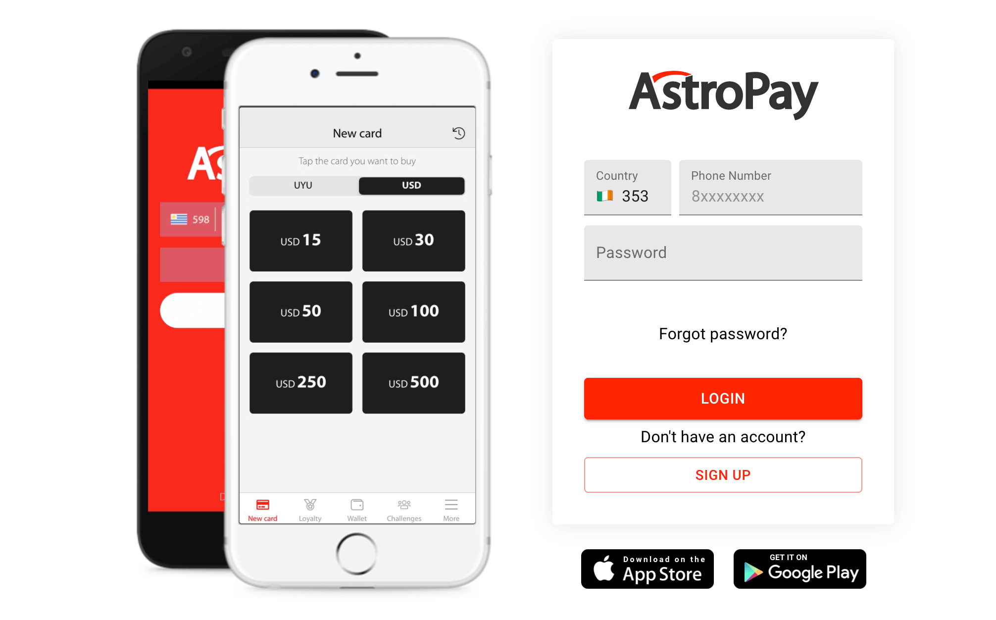 why deposit with an astropay card