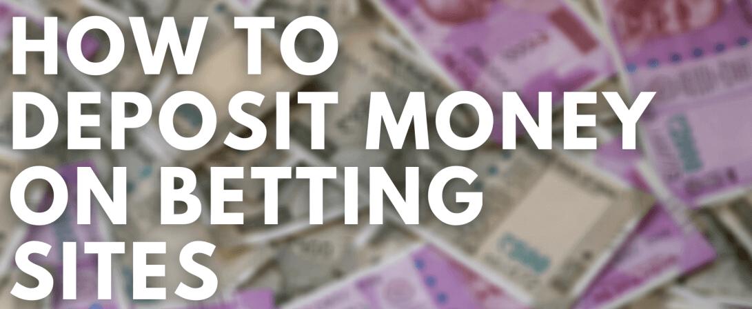 depositing money at INR bookies